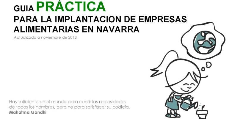 Seminario: Implantación de Industrias Alimentarias en Navarra