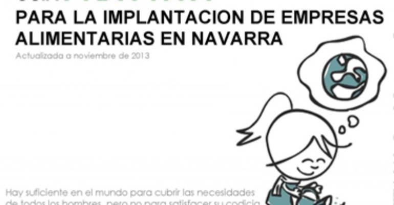 GUÍA PARA LA IMPLANTACIÓN DE EMPRESAS ALIMENTARIAS EN NAVARRA