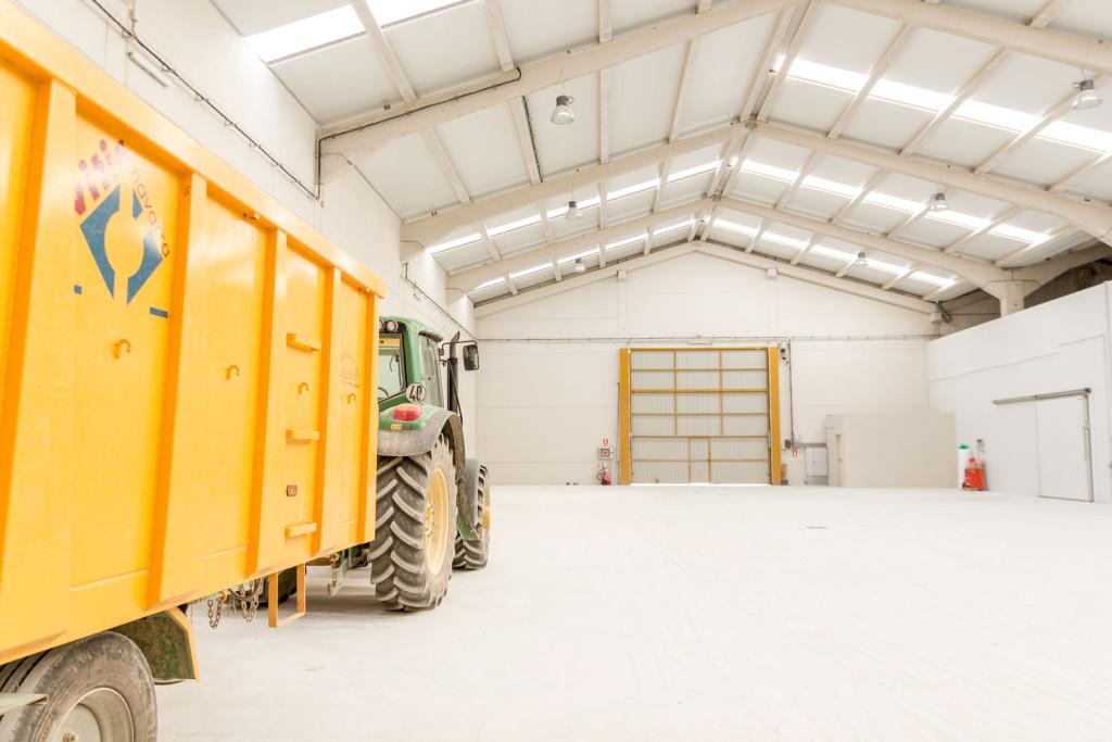instalaciones de manipulación de planta de vid en Larraga 6